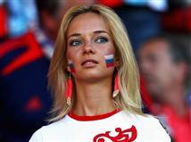 האוהדים הרוסים שקטים מאוד. אפשר להבין אותם (getty)