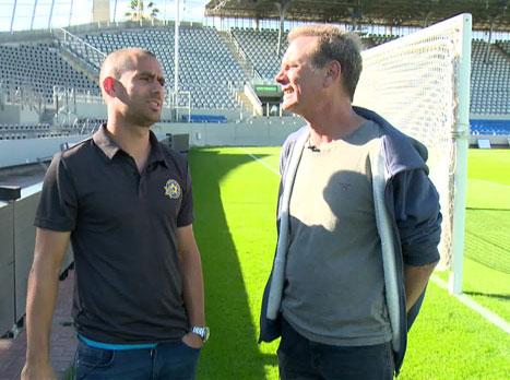 <STRONG>מודי בר און שוחח עם גילי ורמוט לקראת המשחק. הכתבה המלאה באולפן ליגת האלופות:</STRONG>