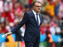 מאמן קרואטיה, אנטה צ`אצ`יץ`, נראה דרוך (getty)