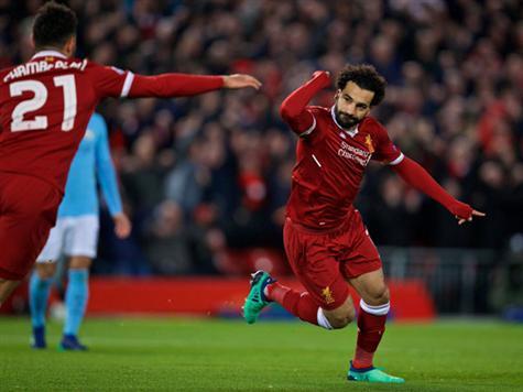 ליברפול עם 30 שערים בתשעה משחקים בליגת האלופות העונה. צפו בשער של סלאח