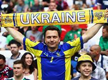גם האוקראינים עם נוכחות יפה (getty)