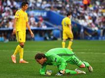 הרבה תסכול בנבחרת אוקראינה (gettyimages)