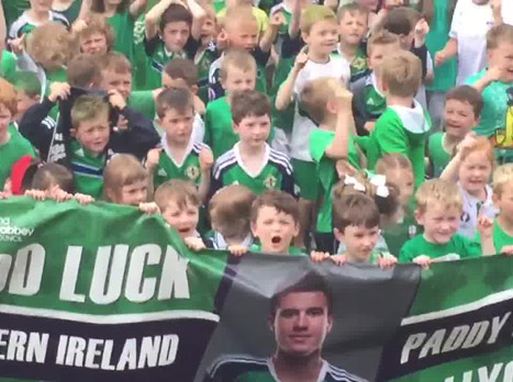 הילדים בצפון אירלנד בטירוף! אתם חייבים לראות את הסרטון הזה!